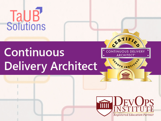 Training Continuous Delivery Architect