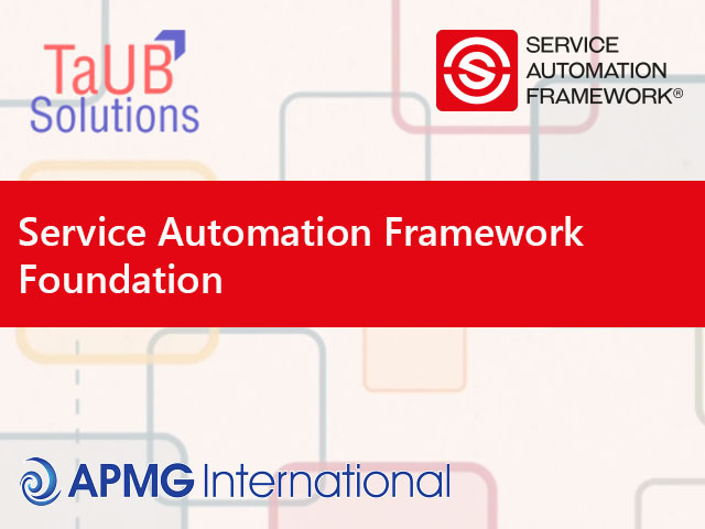 Service Automation Framework Training in India