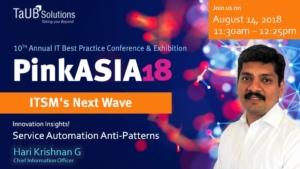 PinkASIA18 - Service Automation