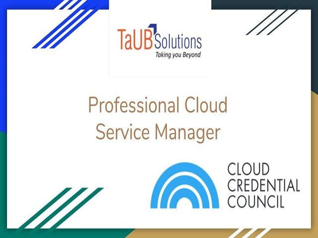 Prof Cloud Serv Mgr