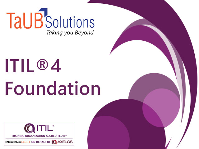 ITIL 4 Foundation