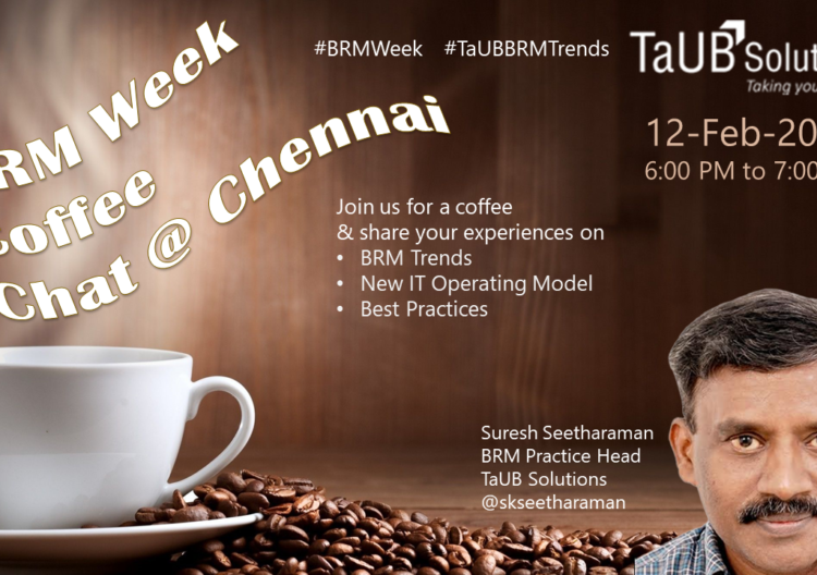 TaUB BRM Coffee Chat Chennai