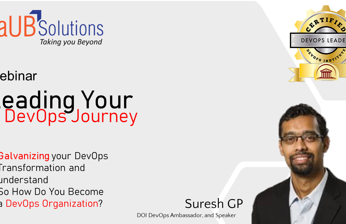 Leading your DevOps Journey